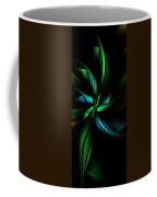 Floral Fractal 040710 Coffee Mug