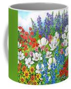 Floral Fusion Coffee Mug