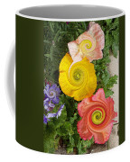 Floral Kaleidoscope Coffee Mug