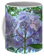 Floral Landscape Blue Hydrangea Flowers Baslee Troutman Coffee Mug