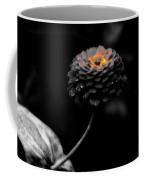 Floral October Zinnia End Of Season Sc 01 Coffee Mug