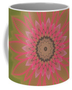 Floral Petals With Hearts Coffee Mug