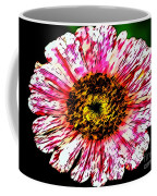Floral Red And White Painting  Coffee Mug