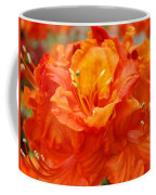 Floral Rhodies Art Prints Orange Rhododendrons Canvas Art Baslee Troutman Coffee Mug