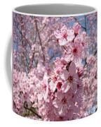 Floral Spring Art Pink Blossoms Canvas Baslee Troutman Coffee Mug