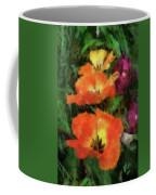 Floral Spring Tulips 2017 Pa 02 Vertical Coffee Mug