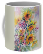 Floral Symphony Coffee Mug