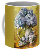 Floral Table Onset In Tiny Bubbles Coffee Mug