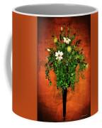 Floral Wall Arrangement Coffee Mug