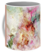 Floral Wings - Abstract Art Coffee Mug by Jaison Cianelli