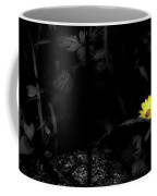 Floral Yellow Peek A Boo Sc Coffee Mug