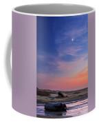 Florence Beach Twilight Moon Coffee Mug