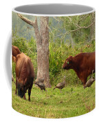 Florida Cracker Cows And Osceola Turkeys #2 Coffee Mug