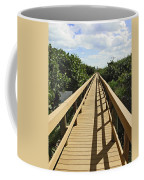 Florida Dune Walk Coffee Mug