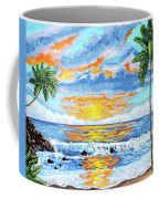 Florida Keys Beach Sunset Coffee Mug