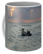 Florida Lobstermen At Dawn Coffee Mug
