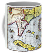 Florida: Map, 1591 Coffee Mug