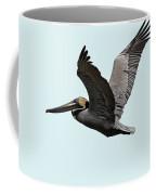 Florida Pelican In Flight Coffee Mug