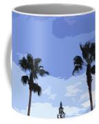 Florida Queen Palms   Coffee Mug