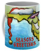 Florida Seasons Greetings Coffee Mug