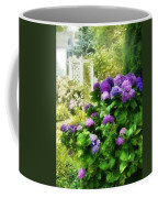 Flower - Hydrangea - Lovely Hydrangea  Coffee Mug by Mike Savad