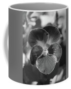 Flower 5 - Black And White Coffee Mug