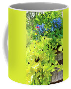 Flower Among Leaves Coffee Mug