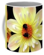 Flower And Bees Coffee Mug