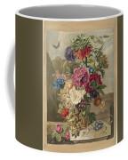 Flower Arrangement, Anthonie Van Den Bos, 1778 - 1838 B Coffee Mug