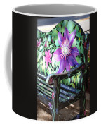 Flower Bench Coffee Mug