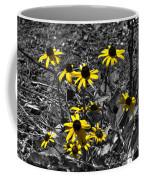Flower Black Eyed Susan Coffee Mug