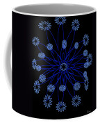 Flower Blue Coffee Mug