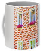 Flower Boxes In Slavonice Coffee Mug