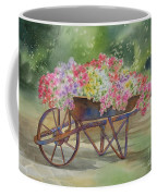 Flower Cart Coffee Mug