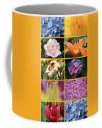 Flower Collage 1 Coffee Mug
