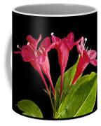 Flower Composite Trio Horizontal Coffee Mug