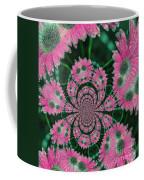 Flower Design Coffee Mug