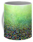 Flower Field Riot Coffee Mug
