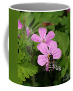 Flower Fly On Stinky Bob Coffee Mug
