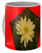 Flower In A Pentagon  Coffee Mug