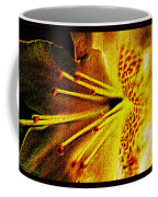 Flower In Abstraction Art Coffee Mug