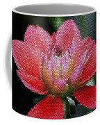 Flower In Stain Glass Coffee Mug