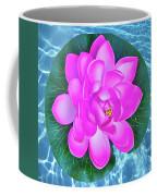 Flower In The Pool Coffee Mug