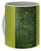 Flower In The Stream - Digital Art Coffee Mug