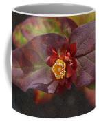 Flower Leaves Coffee Mug