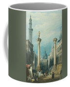 flower market in Vicenza Coffee Mug