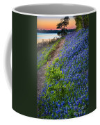 Flower Mound Coffee Mug by Inge Johnsson