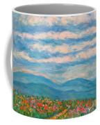 Flower Path To The Blue Ridge Coffee Mug
