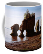 Flower Pot Rocks On The Beach, Hopewell Coffee Mug