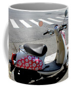 Flower Power For A Montreal Motor Scooter Coffee Mug
